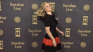 Alison Sweeney Red Carpet Style at Days of Our Lives 50 Anniversary Party