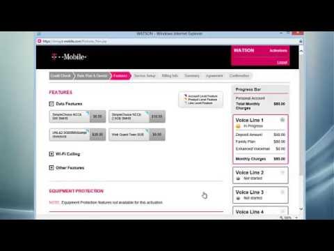 T-Mobile SIMPLE CHOICE-No credit Check Spanish-Espanol version como Activar