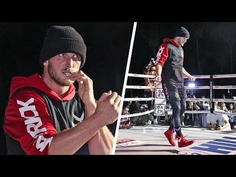 Logan Paul - FULL L.A PUBLIC WORKOUT ahead of KSI Rematch Clash
