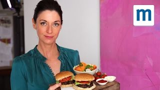 Black Bean Burgers - With All The Trimmings | Mary Mccartney