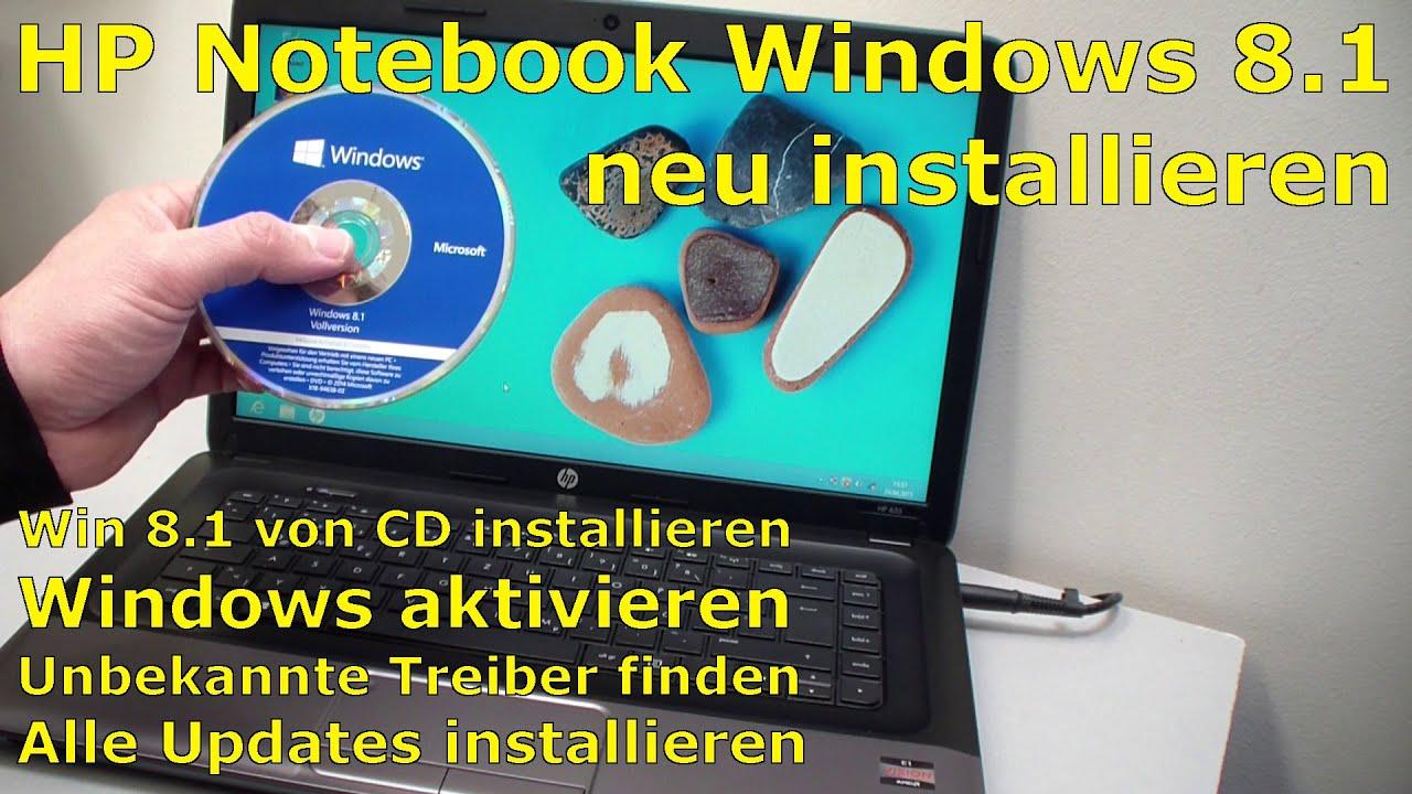 hp notebook windows neu installieren hewlett packard. Black Bedroom Furniture Sets. Home Design Ideas