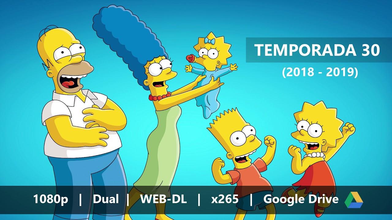 Los Simpson Temporada 30 1080p Dual X265 Google Drive Youtube