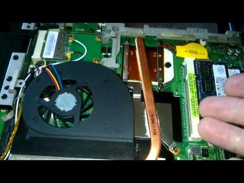 ноутбук Asus K50ab \ замена моста, тюнинг системы охлаждения