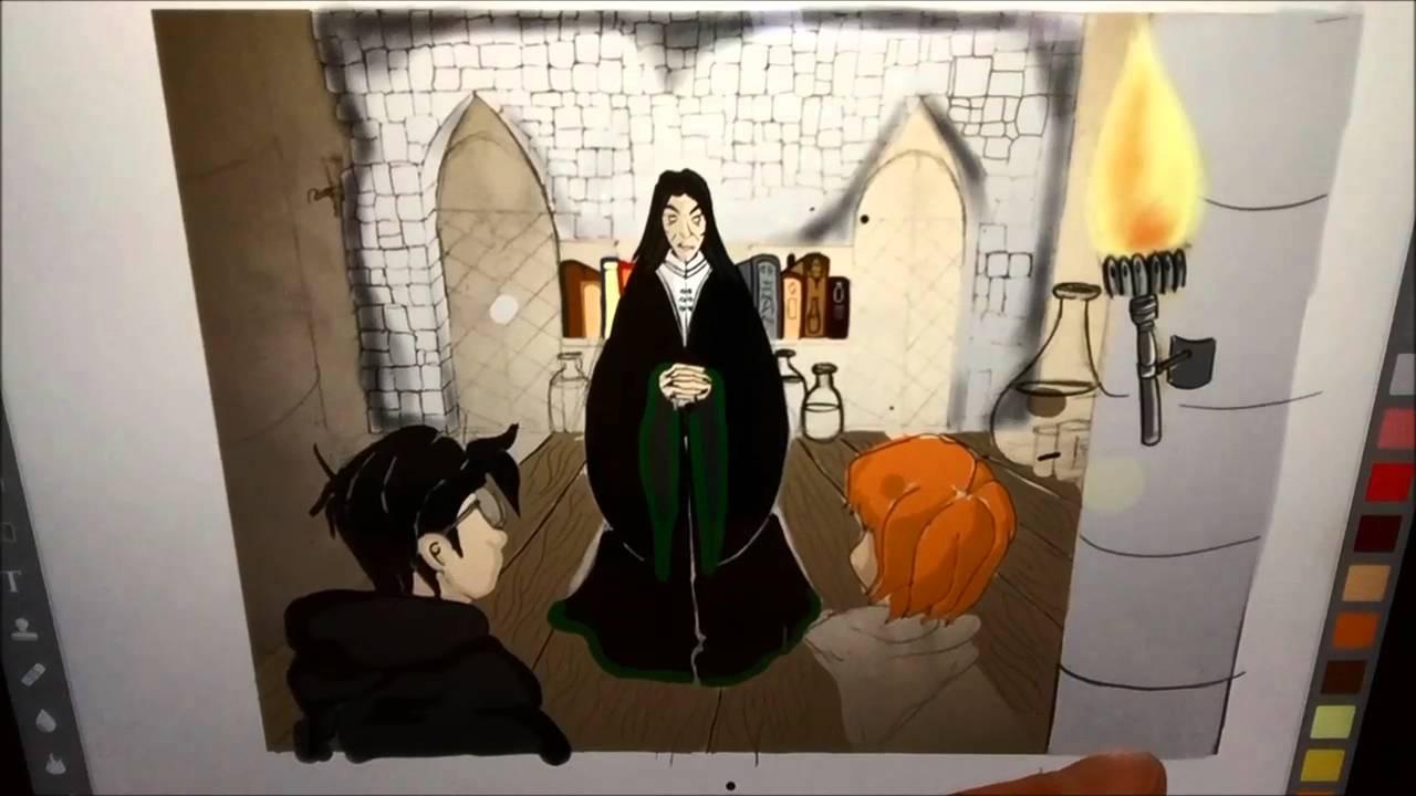 Nouvel Objet Harry Potter Et Dessin De Rogue ASMR