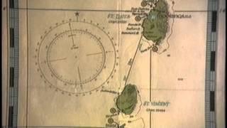 Maps of St Lucia sail trip