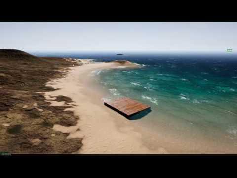 Nvidia WaveWorks test - Unreal engine 4 17