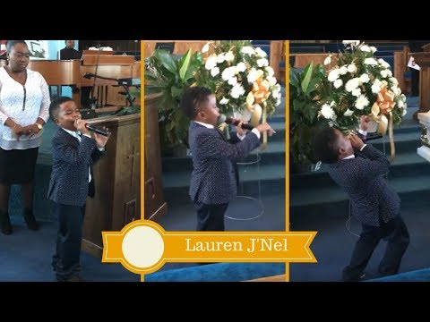 """A Child Shall Lead Them: Little Boy Sings Vickie Winans """"Safe In His Arms"""" At Home Going Service"""