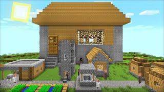 minecraft villager villagers village giant