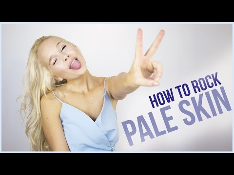 HOW TO ROCK PALE SKIN I Fair skin Makeup Tutorial (Chit chat GRWM)