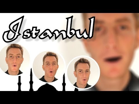 Istanbul (Not Constantinople) - Barbershop A Cappella Quartet (They Might Be Giants)