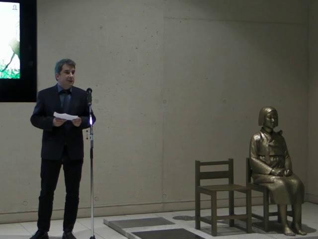 """2. Vernissage """"Mädchenstatue für den Frieden"""" - Tobias Freimüller"""