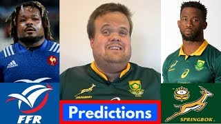 France vs South Africa 2018 Predictions | November Tests Week 2