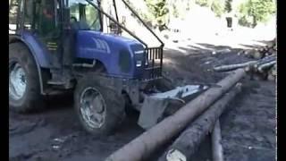 FARMTRAC 675DT wersja leśna