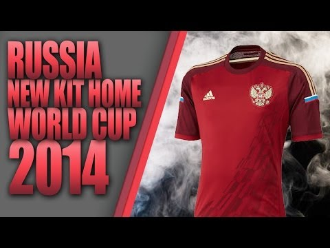 RUSSIA NEW KIT HOME WORLD CUP 2014 [ PES 2013 ] [ DESCARGA ]…
