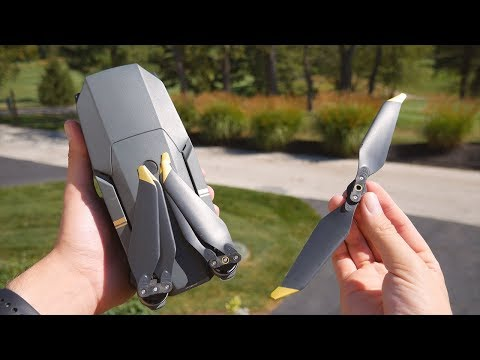 Mavic Pro Low-Noise Propeller Test on Original Mavic Pro
