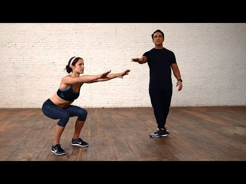 Squats For Beginners: How to do a Squat Correctly