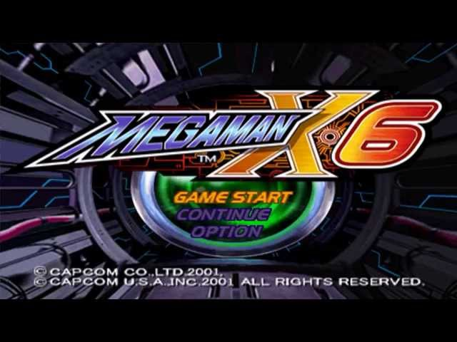MEGAMAN X6 - Gameplay do Início no Playstation