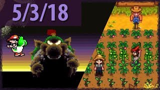 YOSHI FINALE AND MORE STARDEW! ⫽ BarryIsStreaming