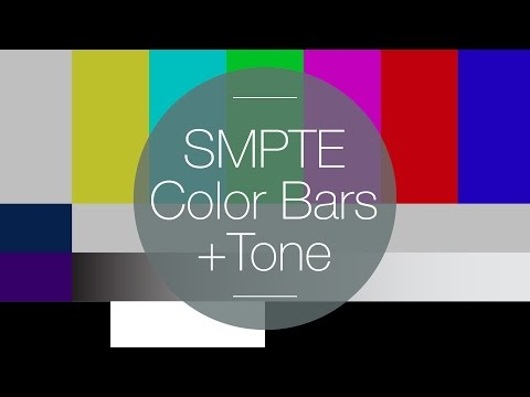 Free HD SMPTE Color Bars with Tone