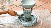 DIY - Creative Flower Pot Ideas // Cement Flower Pots Made From Ball And // GloveGarden Design