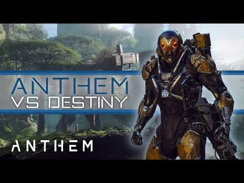 Anthem - So is Anthem a 'Destiny Killer?' Probably Not. My thoughts and concerns.