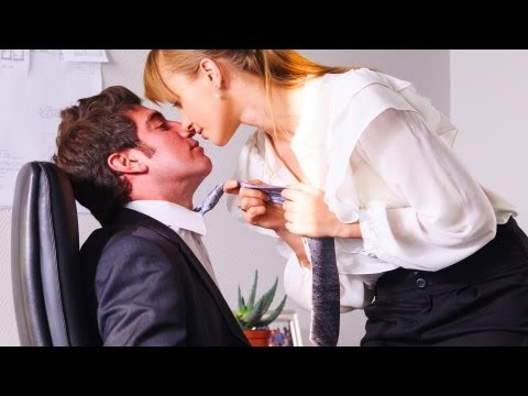 How to Make Out at Work | Kissing Tutorials