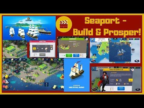 Seaport - Build & Prosper!  - HMS Royal James Ship (Android)