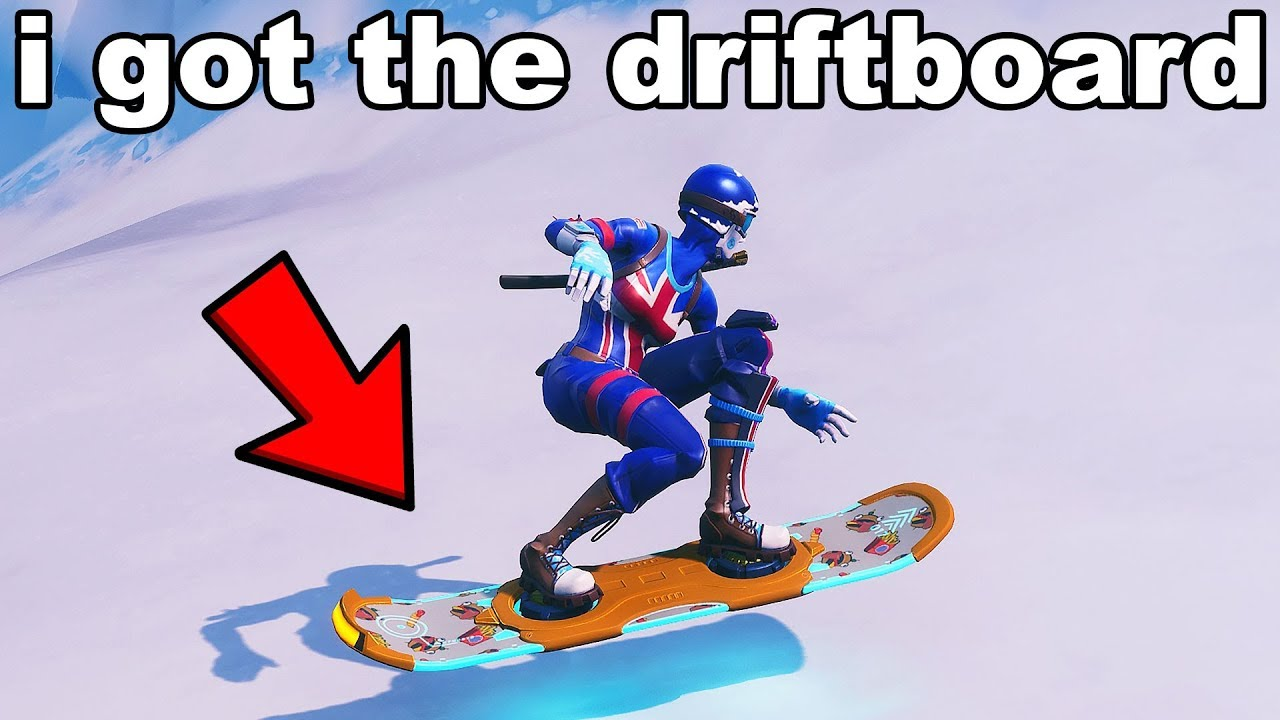 A Hacker Showed Me How To Get The Drift Board In Fortnite Youtube