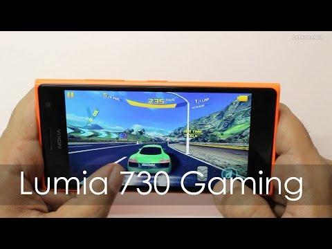 Nokia Lumia 730 Windows Phone Gaming Review