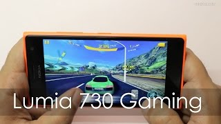 Nokia Lumia 730 Windows Phone Gaming Review