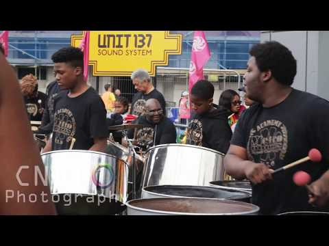 Metronomes Steel Orchestra - MSO - Woolwich Carnival 2017 filmed by #CashinoNDT - bob marley jammin