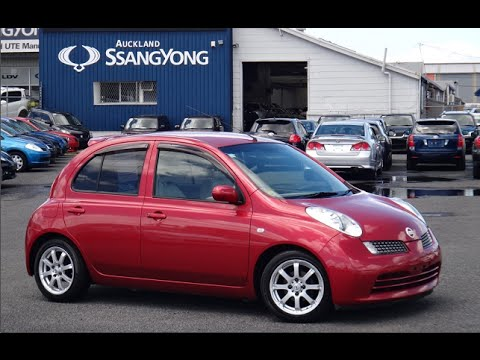 2005 nissan march 15g 5 door hatchback 1500cc petrol automatic youtube. Black Bedroom Furniture Sets. Home Design Ideas