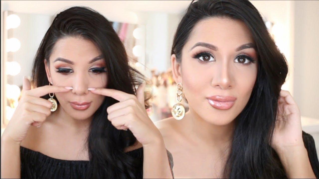 Nase verschmälern ohne OP I Soraya Ali - YouTube