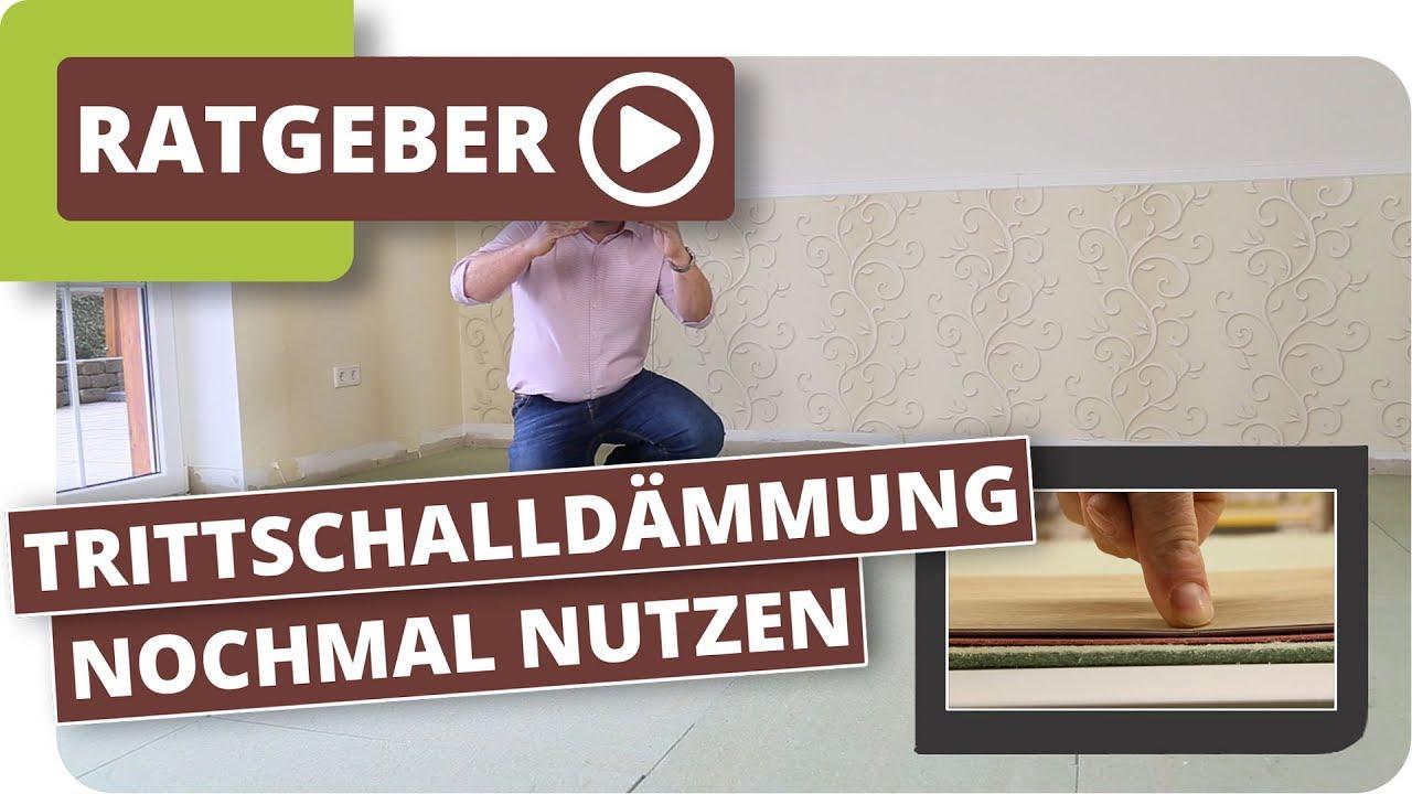Quietschender Fußbodenbelag ~ Alte trittschalldämmung nochmal nutzen? holzfaserplatten dämmung
