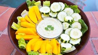 Coconut Dressing! Low Fat, Raw Vegan