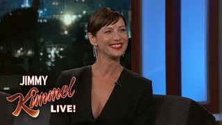 Caitriona Balfe Stole Something from Matt Damon's Trailer