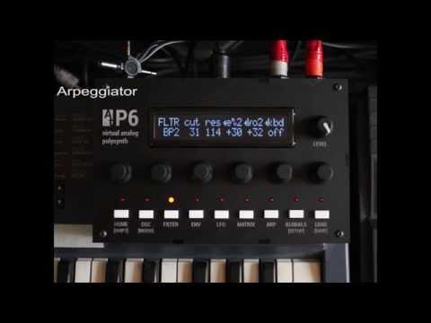 Audiothingies P6 demo 2