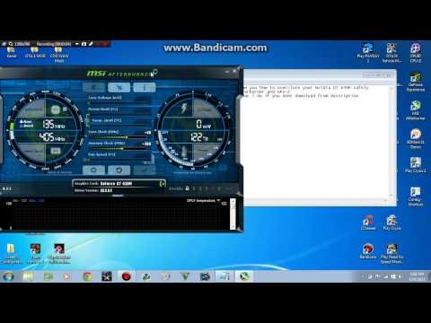 Overclocking Nvidia GT 630M guide