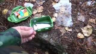 Metsäkartanon geokätkö kettukorsu ja haaska