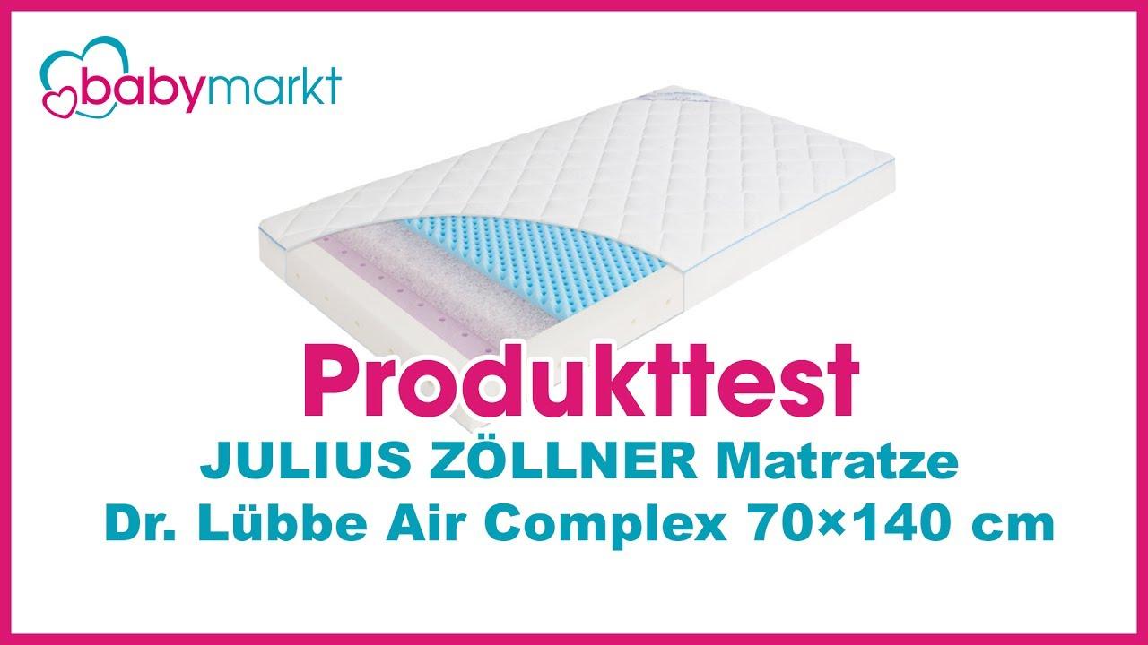 Julius Zöllner Matratze Dr Lübbe Air Complex Testbericht Youtube