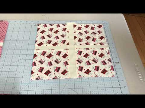 Trim the 4 Square Quilt Blocks