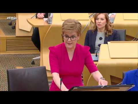 First Minister's Questions - 27 February 2020