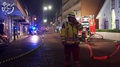 Großeinsatz der Feuerwehr Westerland in der Strandstraße