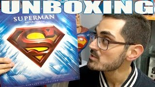 UNBOXING SUPERMAN ANTOLOGÍA 1-4 VINTAGE COLLECTION + CONCURSO POSTALES NAVIDAD