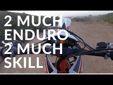 ALX - 2Much Enduro 2Much Skill Μαζί με RED EYE FALCON - (ATH BIKELIFE) -
