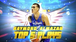 Raymond Almazan SEABA 2017 Top 5 Plays | SEABA 2017