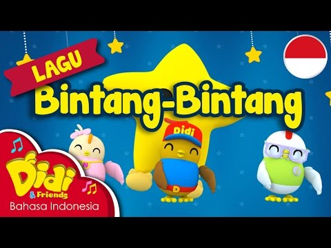 Lagu Anak-Anak Indonesia | Didi & Friends | Bintang-Bintang