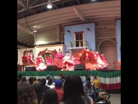 Dance Academy of Mexico  Mexican Fiesta 2016  DAOM