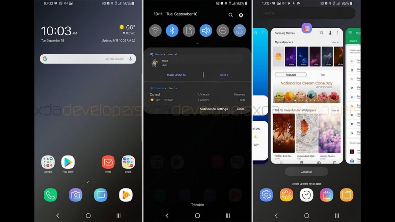 Samsung Galaxy S9 Android Pie Update BRINGS BIG CHANGES