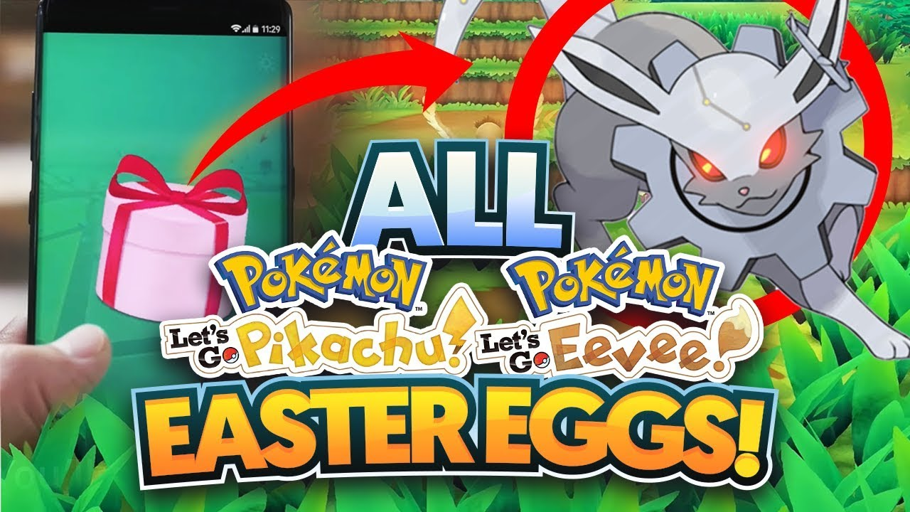 Pokemon Let's Go, Pikachu! and Let's Go, Eevee! Trailer: Easter Eggs, Things Missed and Breakdown #1